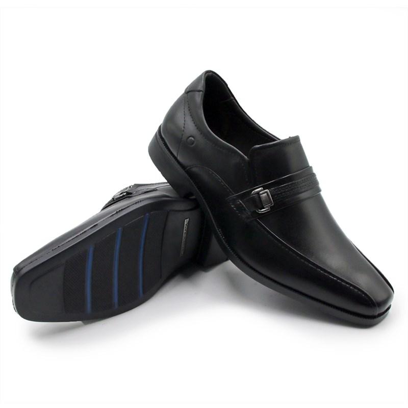 Sapato Democrata Dual Soft Dress Masculino Preto - 201238