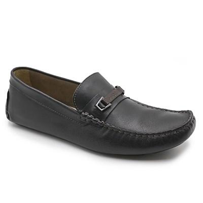 Sapato Democrata Preto/Carvalho - 233186