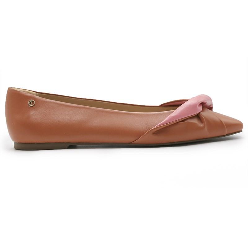 Sapato Dumond Castanho/Rosa - 234375