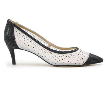 Sapato Feminino Werner Branco/Preto - 239791