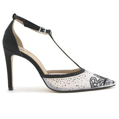 Sapato Feminino Werner Preto/Branco - 239792