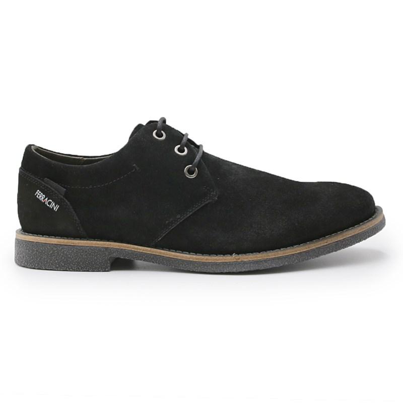 Sapato Ferracini Bangkok Rustic Masculino Preto - 242619