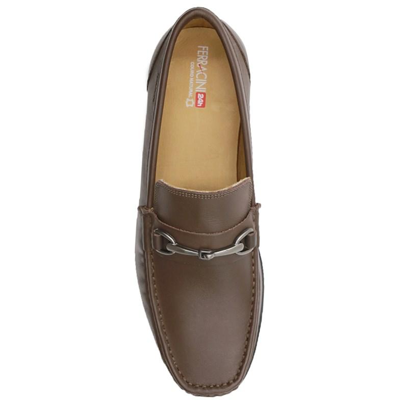 Sapato Ferracini Buenos Aires Masculino Tabaco - 242608