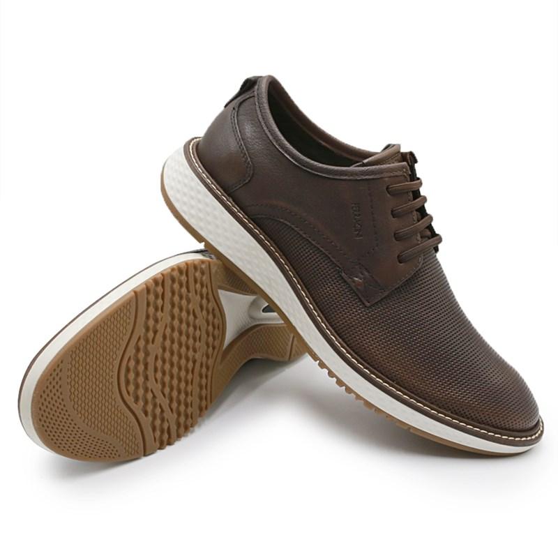 Sapato Ferracini Play Masculino Tabaco/Conhaque - 242606