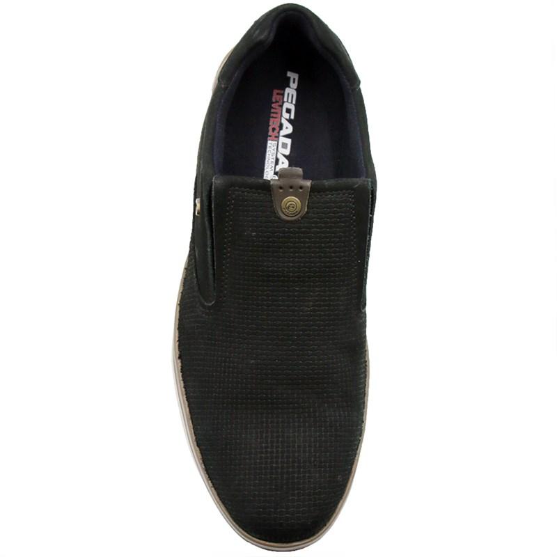 Sapato Pegada Preto/Cravo - 235268