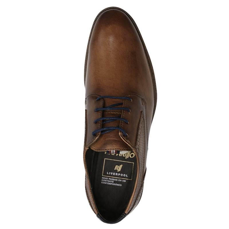 Sapato Rafarillo Whisky/Azul Bic - 235407