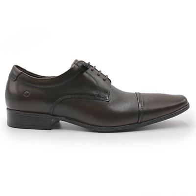 Sapato Social Democrata Aspen Mahogany - 208201
