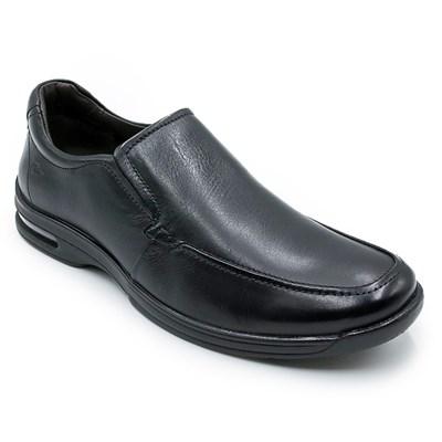 Sapato Social Masculino Democrata Air Fly Preto - 228290