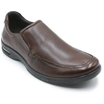 Sapato Social Masculino Democrata Air Fly Tabaco - 228290