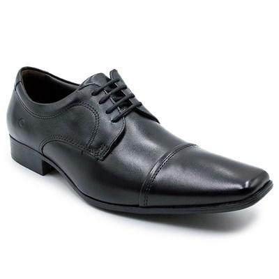 Sapato Social Masculino Democrata Aspen Preto - 228283