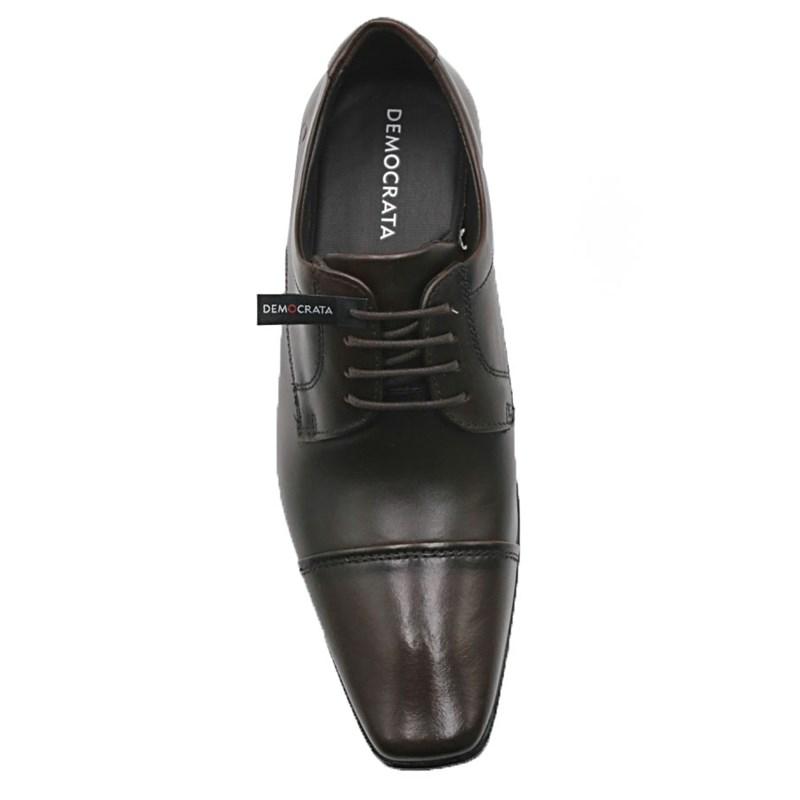 Sapato Social Masculino Democrata Mahogany - 208201