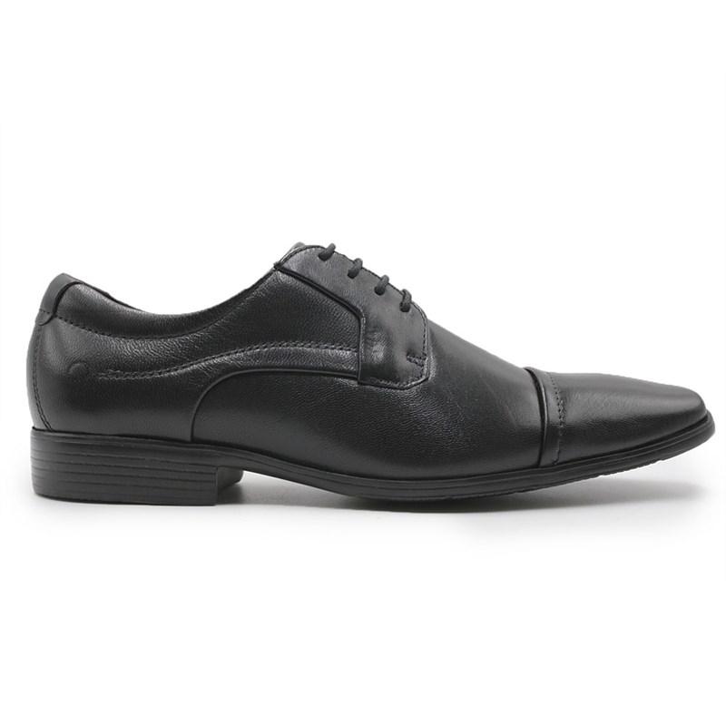 Sapato Social Masculino Democrata Preto - 214051