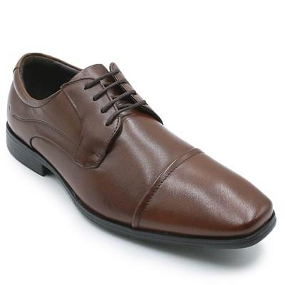 Sapato Social Masculino Democrata Tan - 228285