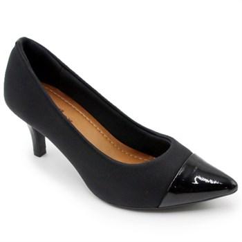 Sapato Usaflex Feminino Preto - 242087