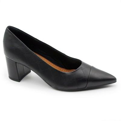 Sapato Usaflex Feminino Preto - 245429