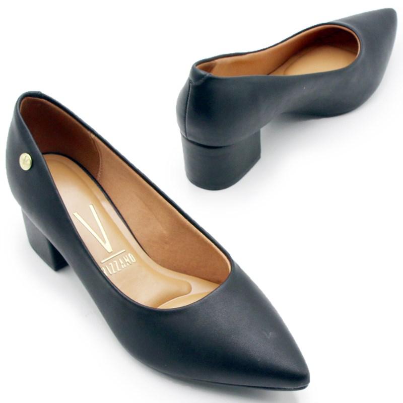 Sapato Vizzano Feminino Preto - 242039