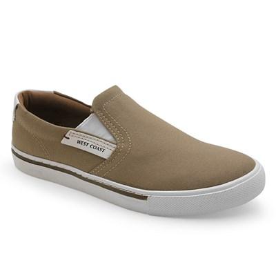 Sapato West Coast Areia/Branco - 233681