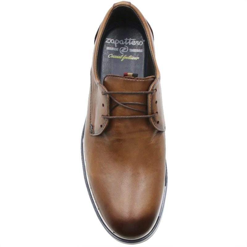 Sapato Zapattero Masculino Tan/Brown - 243406