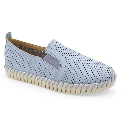 Slip On Bottero Azul Pastel - 232837