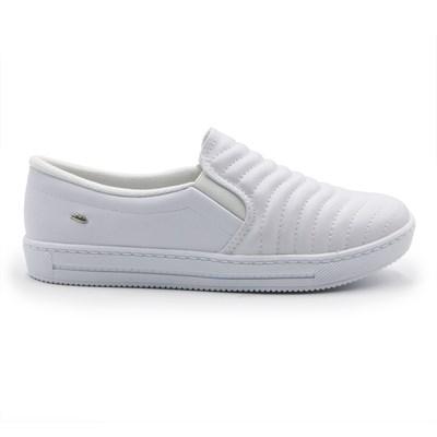 Slip On Dakota Feminino Branco - 245506