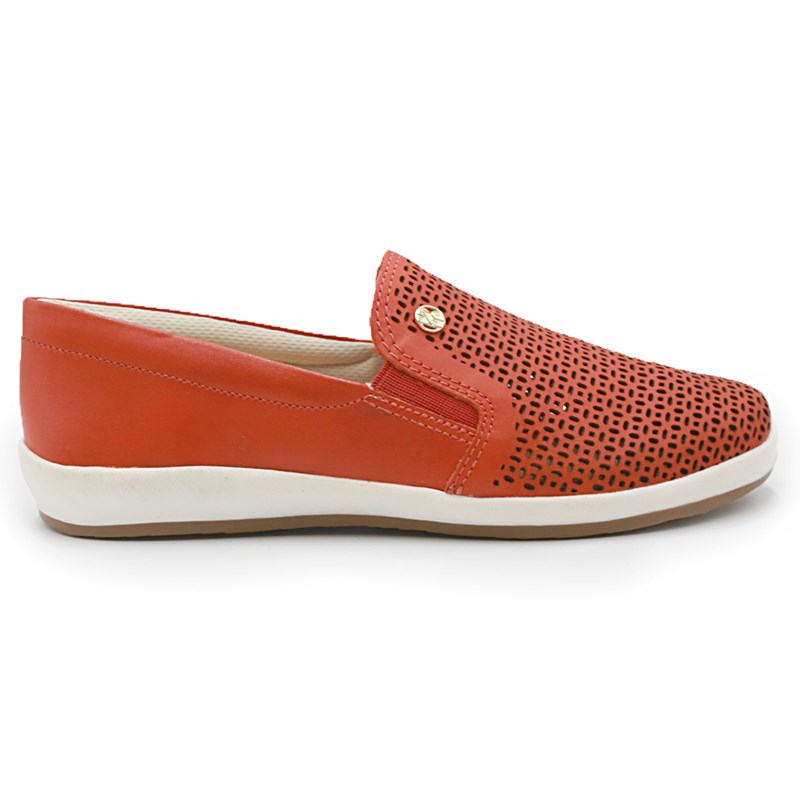 Slip On Feminino Bottero Mandarina - 234138