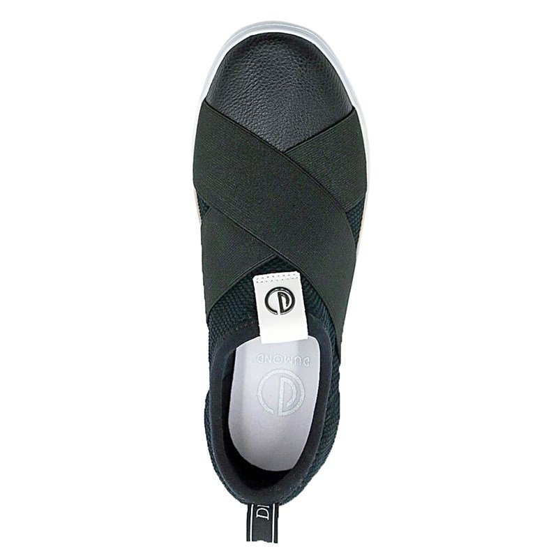 Slip On Feminino Dumond Preto - 221690