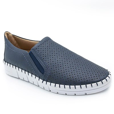 Slip On Feminino Usaflex New Blue - 232158