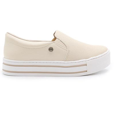 Slip On Feminino  Via Marte Manteiga - 232867