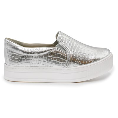 Slip On Feminino Via Marte Prata - 224334