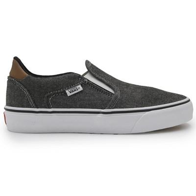 Slip On Vans Asher Deluxe Preto/Branco - 246146