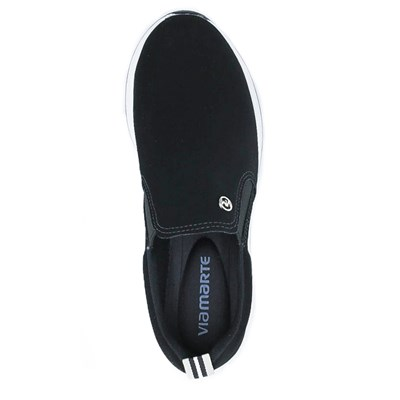 Slip On Via Marte Preto - 231702