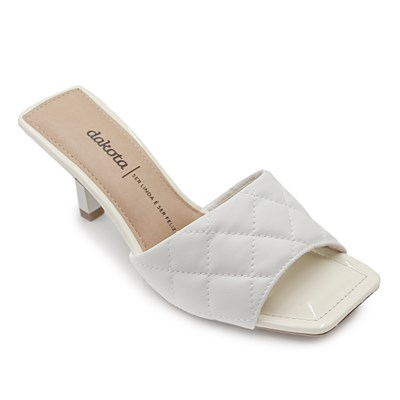Tamanco Feminino Dakota White - 232963