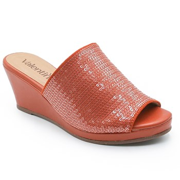Tamanco Feminino Valentina Orange - 228739