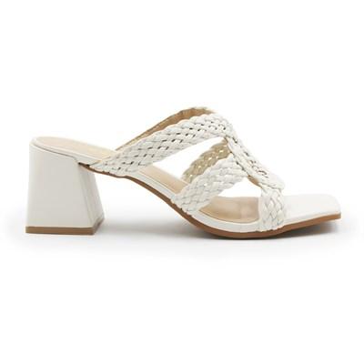 Tamanco Ferrette Feminino Off White - 245605