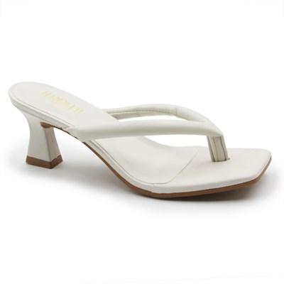 Tamanco Ferrette Feminino Off White - 245610