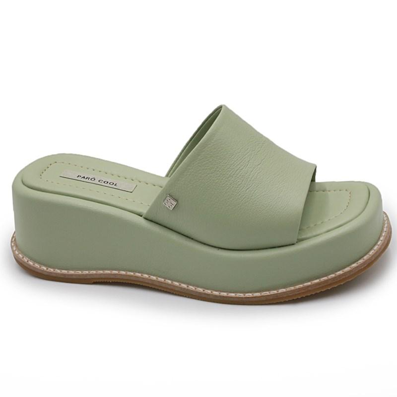 Tamanco Paro Feminino Verde - 245092