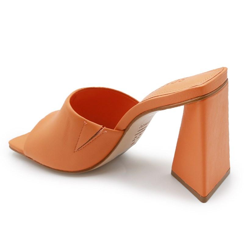 Tamanco Schutz Feminino Bright/Tangerine - 242010