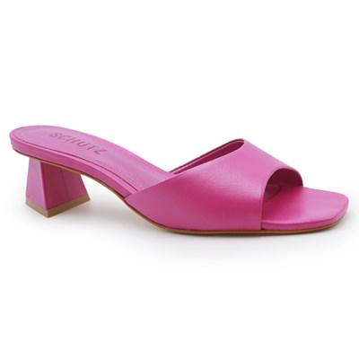 Tamanco Schutz Feminino Very Pink - 242011