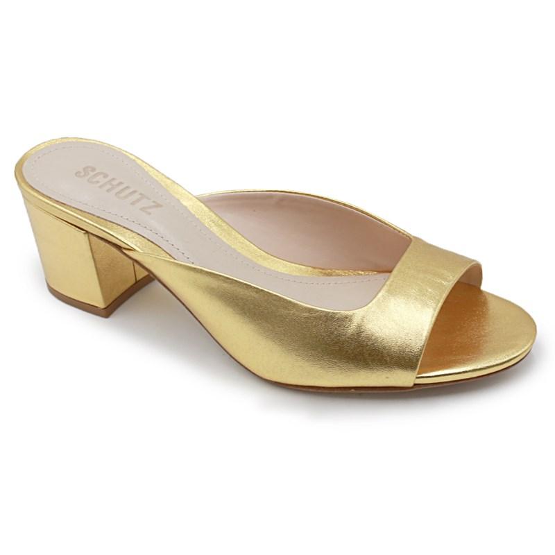 Tamanco Schutz Ouro - 236612