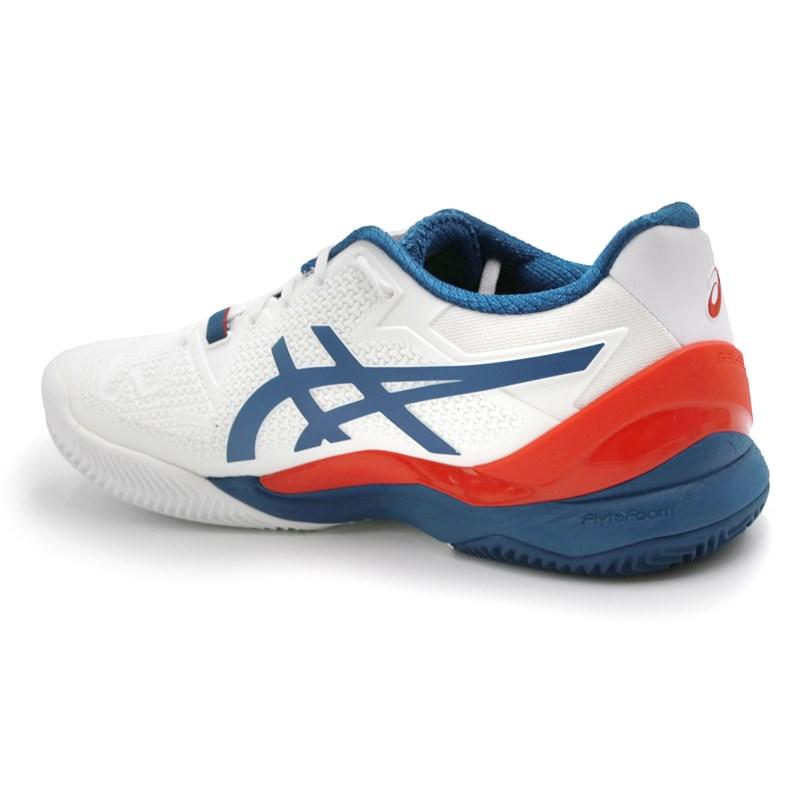 Tenis Asics Gel Resolution 8 Clay 103 - 237624