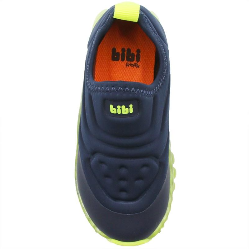 Tenis Bibi Infantil Naval/Amarelo - 242785