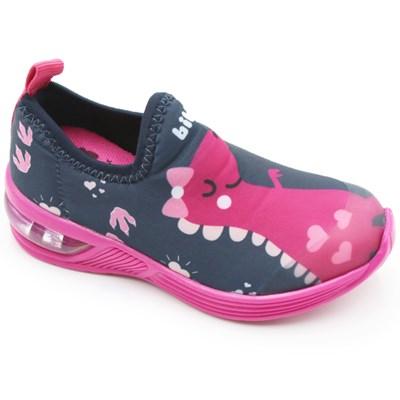 Tenis Bibi Infantil Naval/Pink - 242146