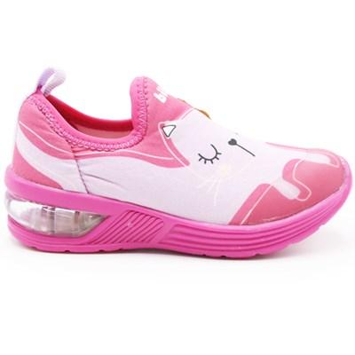Tenis Bibi Infantil Pink/Estampado - 242147