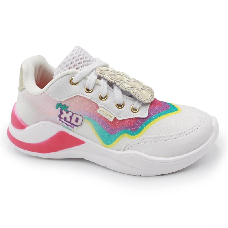 Tenis Casual Pampili Infantil Multicolorido - 243023