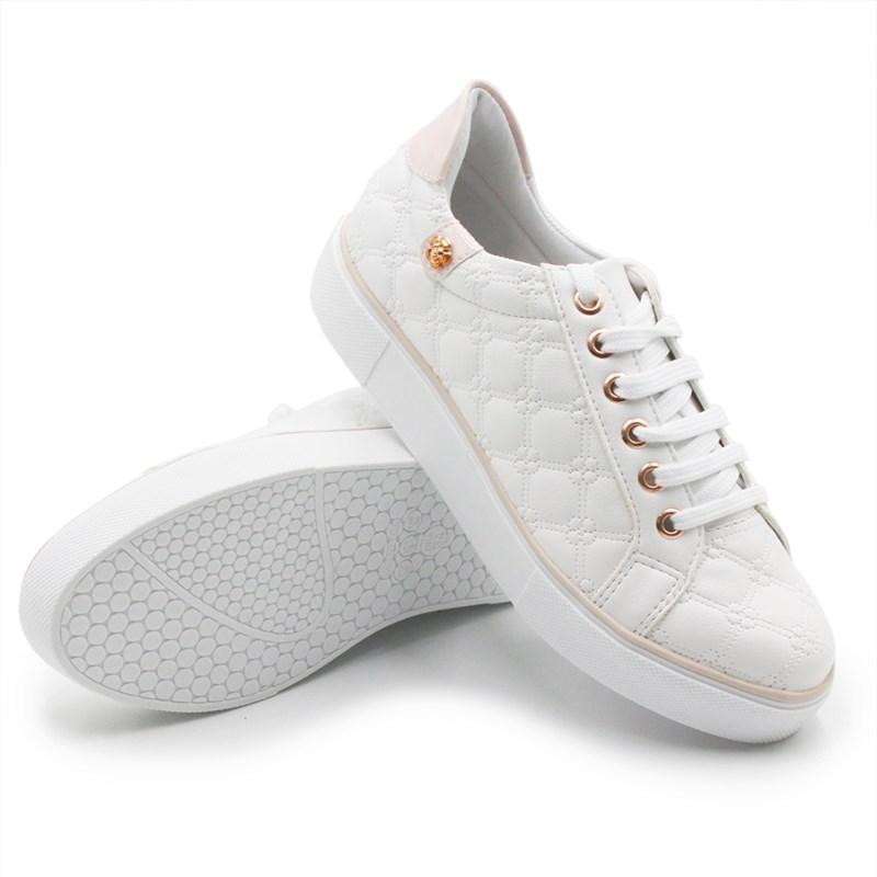 Tenis Ferrete Feminino Branco - 243945