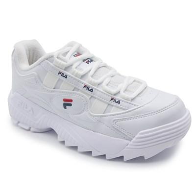 Tenis Fila Branco/Marinho - 232535