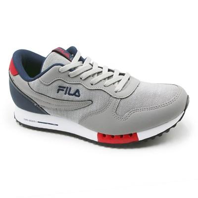 Tenis Fila Euro Jogger Sport 11 U335 X Cinza/Marinho - 209148