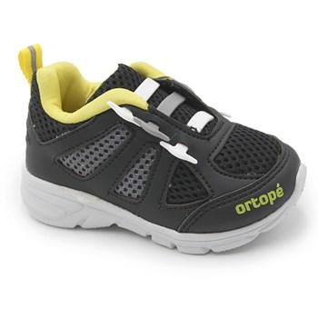 Tenis Infantil Ortope Preto/Ambar - 234746