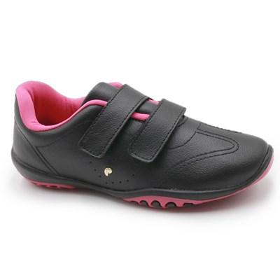 Tenis Infantil Pampili Preto/Pink - 236483