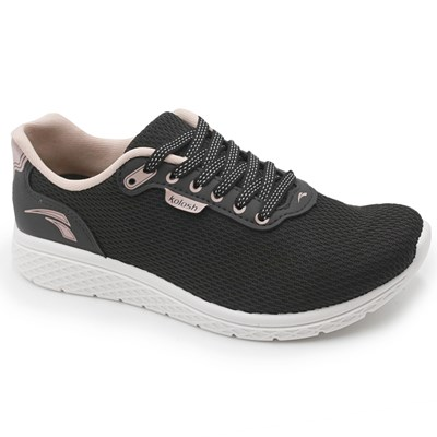 Tenis Kolosh Angel Ii Preto/Blush - 235588